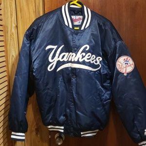 Starter Jackets Amp Coats Vintage Ny Yankees Satin Diamond